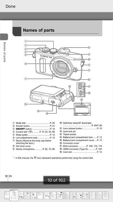 点击获取Olympus Camera Handbooks