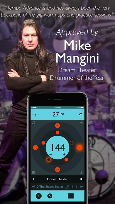 Screenshot for Tempo Advance - Metronome in Malaysia App Store