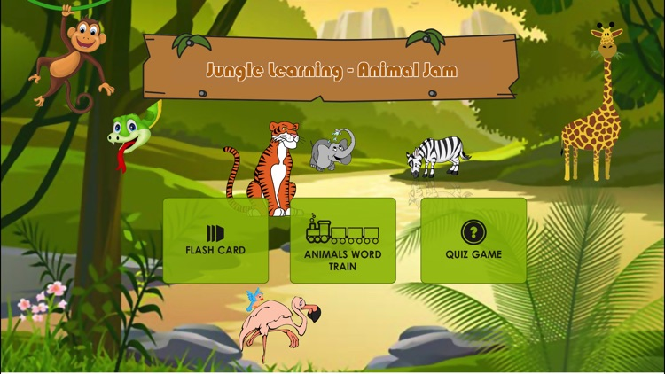 Jungle Learning - Animal Jam screenshot-1