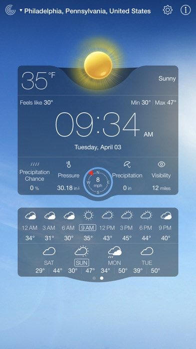 download Weather Live゜ apps 4
