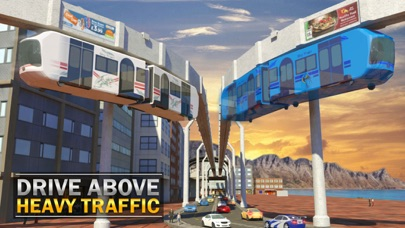 Elevated Train Simulator 3D screenshot one