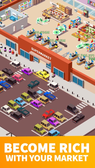 Idle Supermarket Tycoon - Shop Screenshot 2