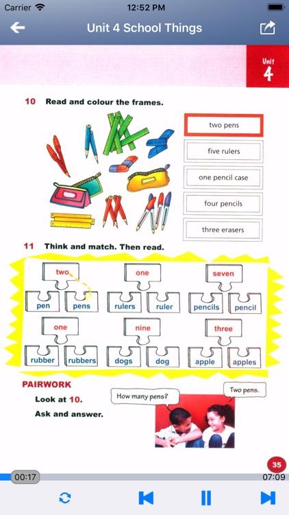 外研社剑桥小学英语 JOIN IN 三年级上下册