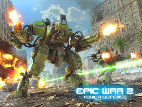 Epic War TD 2 на iPad