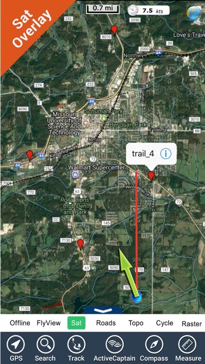 Mark Twain GPS National Forest
