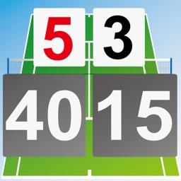 Tennis Score & Card