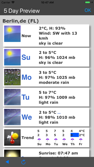 More Weather screenshot 2