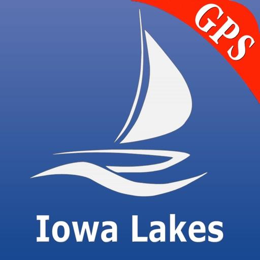 Iowa Lakes GPS Nautical Charts