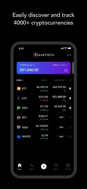 Blockfolio - Bitcoin Tracker on the App Store