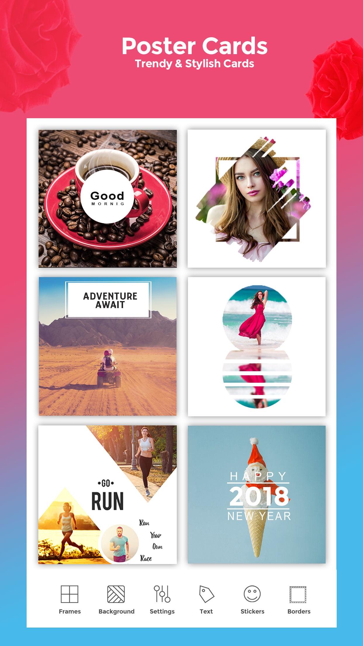 Frames - Picture Collage Maker Screenshot