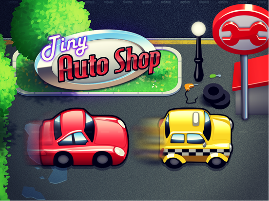 Tiny Auto Shop: Car Stop Baron-ipad-0