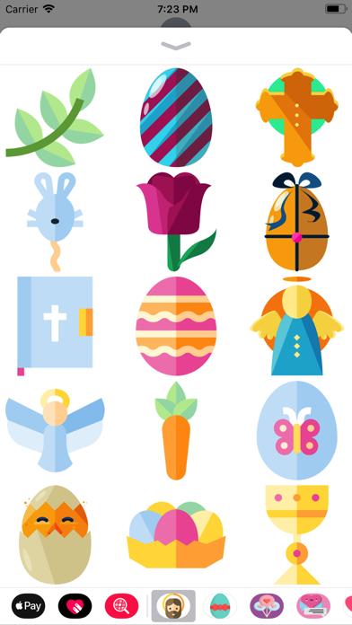 点击获取Beautiful Easter Sticker Pack