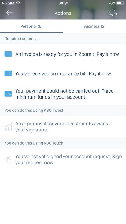 KBC Mobile screenshot-5