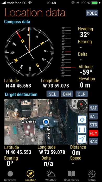 Quickgets Geo: geodata widgets Screenshots