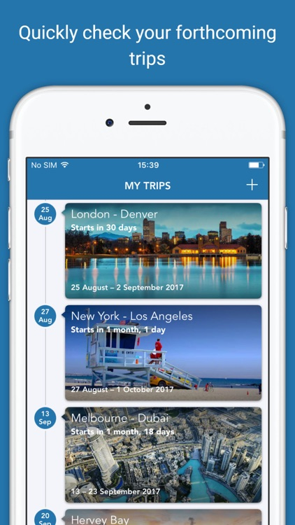 CheckMyTrip – Travel Itinerary screenshot-0