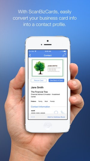 Scanbizcards lite on the app store scanbizcards lite on the app store reheart Gallery