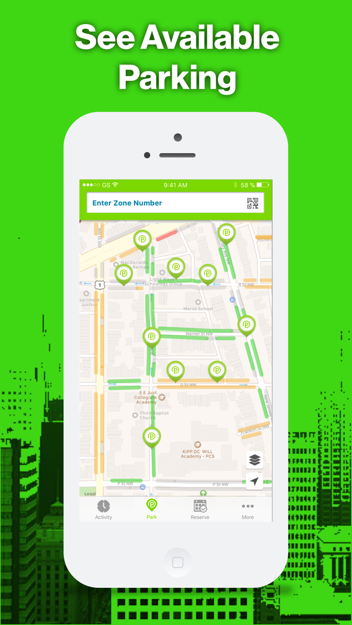 ParkMobile - Find Parking Screenshot