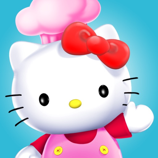 Hello Kitty Город еды