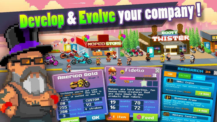 Motor World: Bike Factory screenshot-3