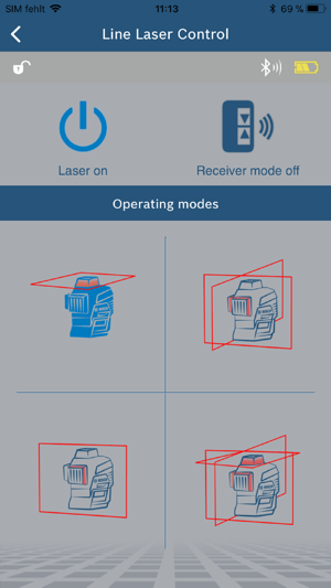 Bosch Levelling Remote App on the App Store