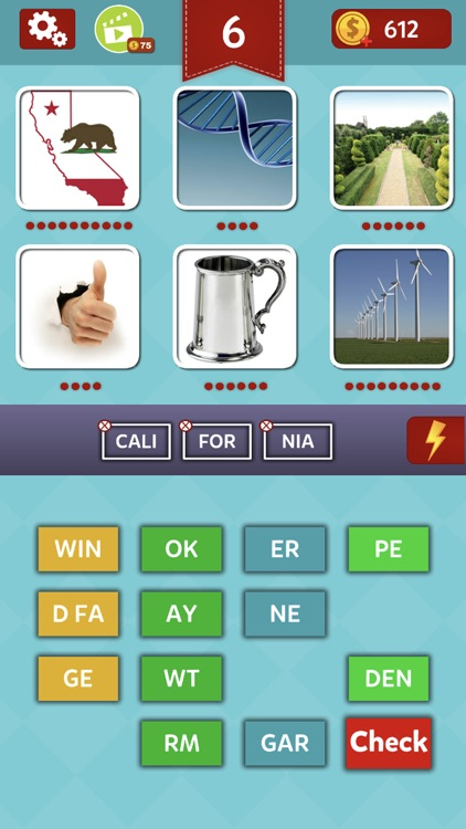 Pics & Words - Puzzle Game
