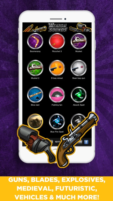 100's 数百の武器効果音Proサウンド... screenshot1