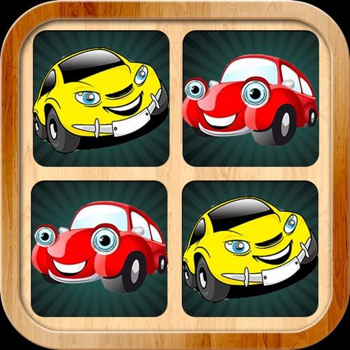 Cars matching pairs games