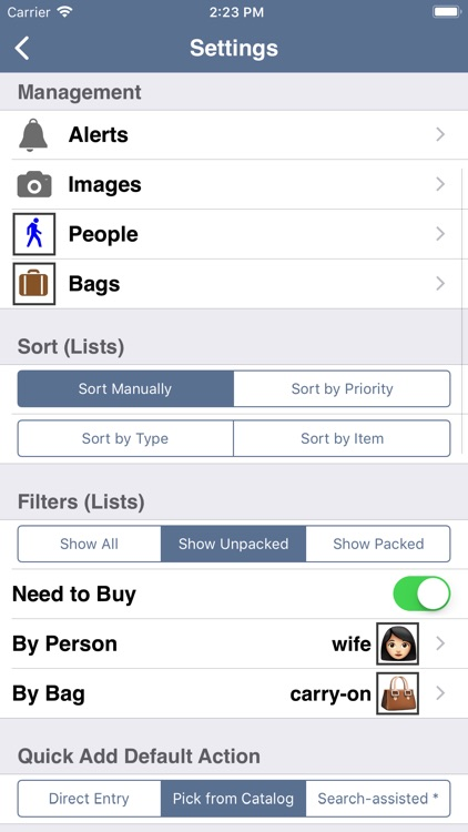Packing (+TO DO!) screenshot-4