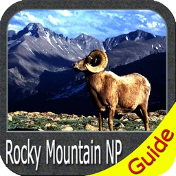 Rocky Mountain National Park - GPS Map Navigator