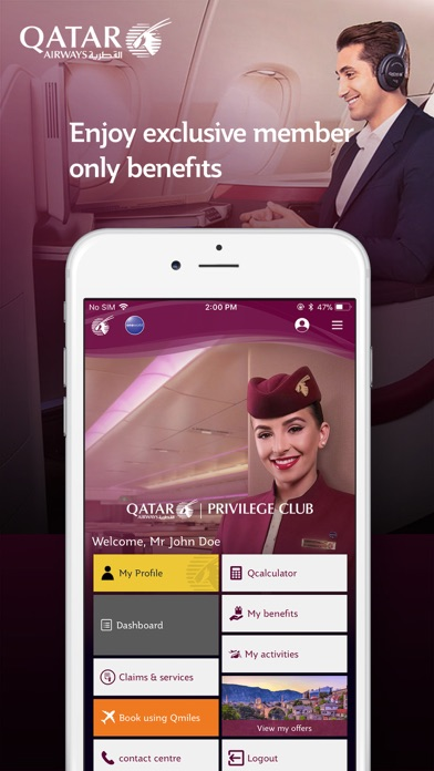 Download Qatar Airways for Pc