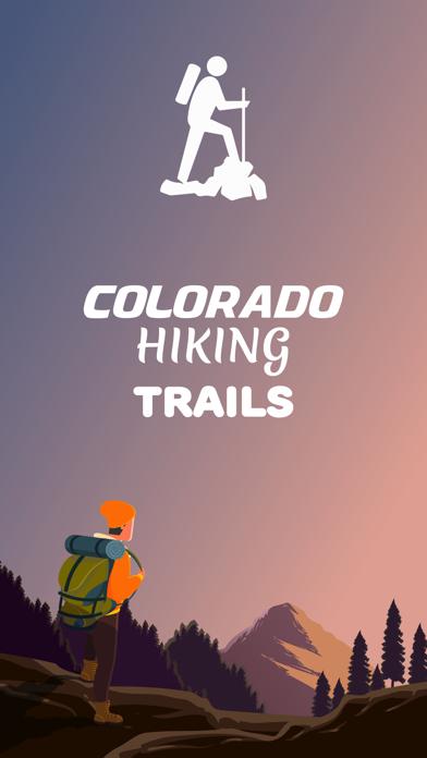 Colorado Hiking Trails screenshot one