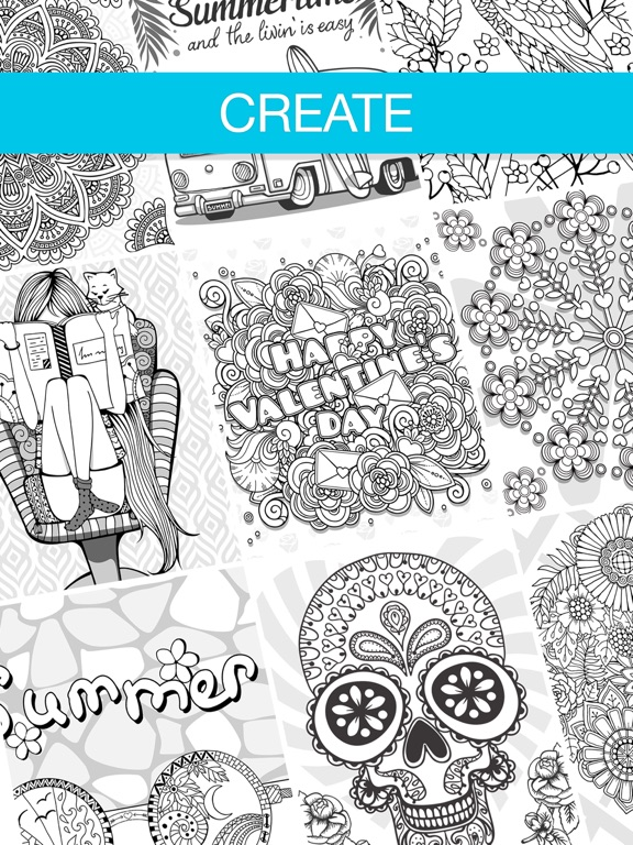 Screenshot 3 For Coloring Book Adults App