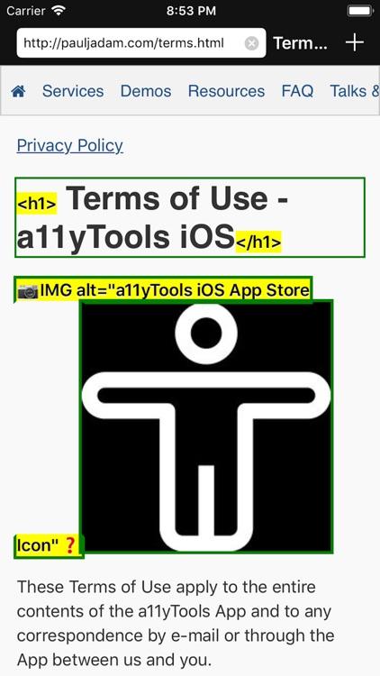 a11yTools - Web Accessibility screenshot-7