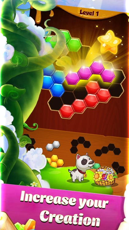 Hexa Block: Fun, Challenge and Inspiration screenshot-3