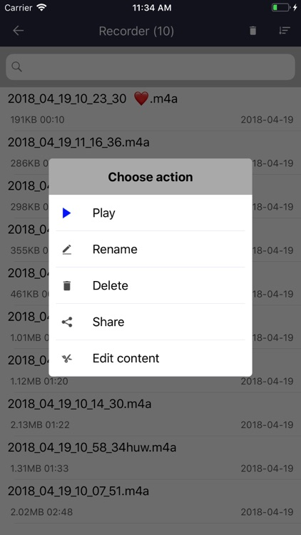 Voice recorder: Audio editor screenshot-7