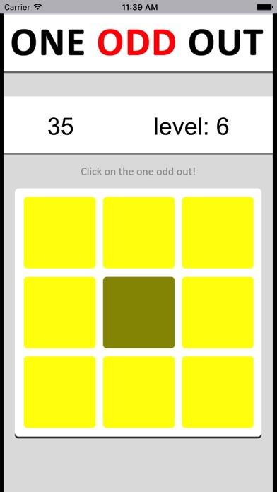 颜色找不同 - 考验最强大脑反应力的智力游戏 Screenshot