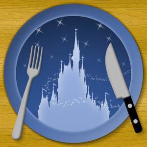Dining for Disney World app