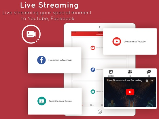 Live stream apps & games by PQMobile (iOS, United States
