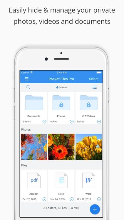 Pocket Files • File Manager