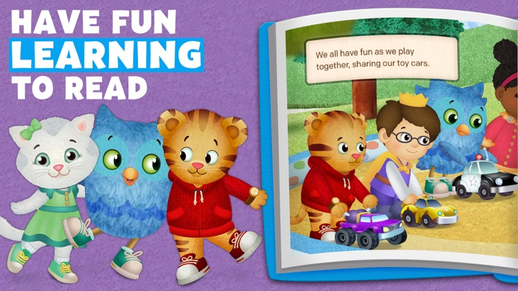 Daniel Tiger's Storybooks screenshot-2