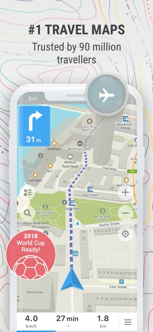 Maps offline map nav on the app store screenshots gumiabroncs Image collections
