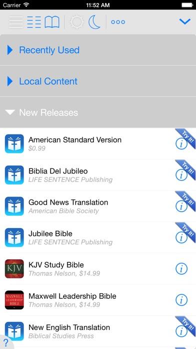 Nlt Bible review screenshots