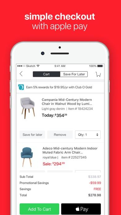 Screenshot 4 for Overstock.com's iPhone app'