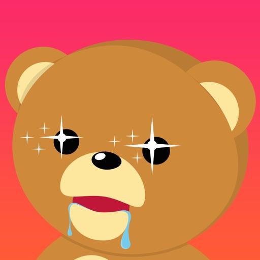Cuddle Teddy Bear Stickers