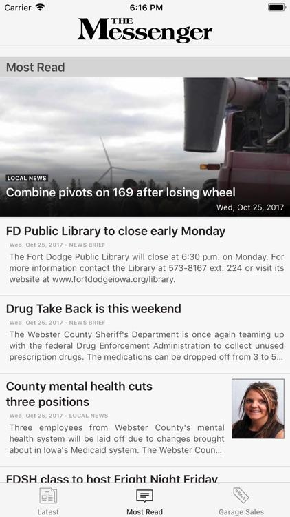 Messenger News screenshot-3