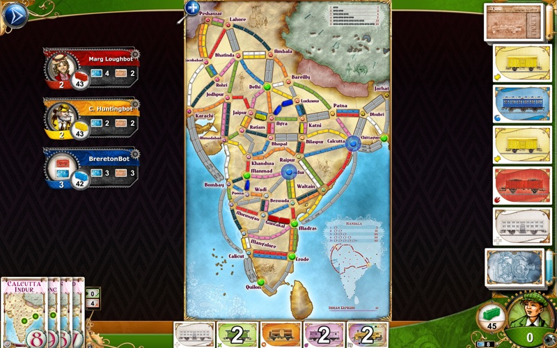 Screenshot #4 for Ticket to Ride