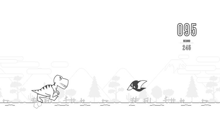 Dino T-Rex Runner Escape