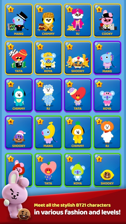 PUZZLE STAR BT21 screenshot-5