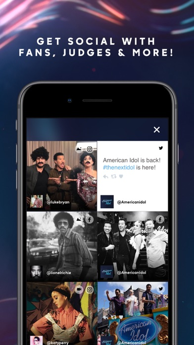 American Idol app image