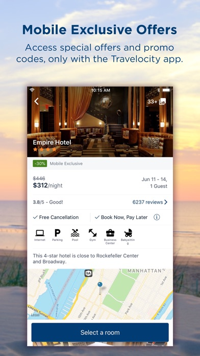 Travelocity Hotels & Flights for Windows